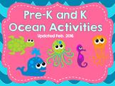 Pre-K and K Ocean Activities