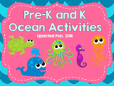 Pre-K and K Ocean Activities