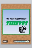 Pre-reading Strategy THIEVES CCSS RI.5.10