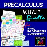 PreCalculus Bundle of Activities