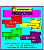 Prefijos (Flip Books: Prefixes in Spanish)