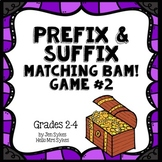 Prefix and Suffix Matching Game #2 Common Prefixes & Suffixes