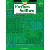 Prefixes and Suffixes  Grades 4-8