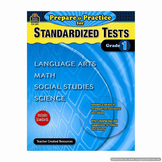 Prepare & Practice for Standardized Tests (Grade 1) TCR2891