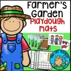 Farm Garden Playdough Mats and Puppets Set