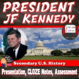 President John F. Kennedy Power Point Lecture Presentation