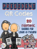 President QR Codes: 20 Patriotic Stories for Daily Five Li