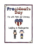 President's Day Fun with Math and Literacy