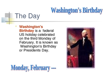 President's Day-Mini-Lesson