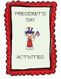 President's Day stuff