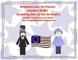 Presidents Love Ten Frames