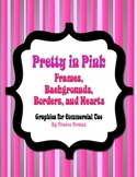 Pretty in Pink Graphics Clip Art for Commercial Use
