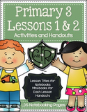 Primary 3 - Lessons 1 & 2