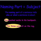 Primary Grammar- Naming & Action Parts of a Sentence in Keynote