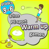 10 FREE PE Sport Warm Up Games - primary/elementary level