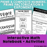 Prime Factorization Interactive Notebook