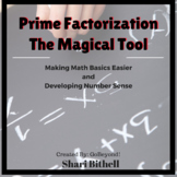 Prime Factorization The Magical Tool CCSS Aligned Grades 4-6