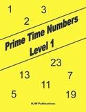 Prime Time Numbers - Level 1  - Digital Download - 1st  Gr