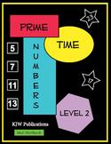 Prime Time Numbers - Level 2  - Digital Download - 2nd  Gr