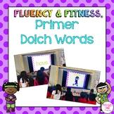 Primer Dolch Words Fluency & Fitness Bundle