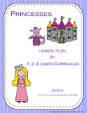 Princess Lesson Plan With ECIP's