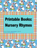 Printable Books for Emergent Readers: Nursery Rhymes