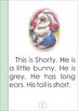 Printable ESL book: Shorty - the brave little bunny (K-1st