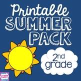 NO PREP Summer Packet for Second Grade