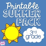 NO PREP Summer Packet for Third Grade