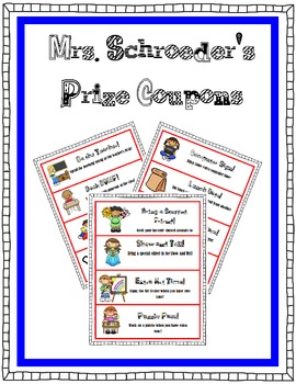 Prize Coupons