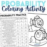 Probability Coloring Worksheet
