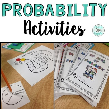 Probability - Printables For First and Second Grade Probability Skills