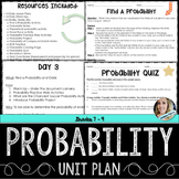 Probability Unit Plan