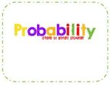 Probability Word Problem Cards