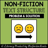 Problem & Solution -- Text Structure Packet