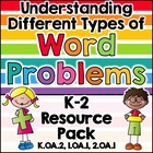 Word Problems Resource Pack: Anchor Charts, Practice, Assessments