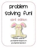 Problem Solving Fun! April Edition