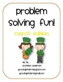 Problem Solving Fun! March Edition