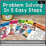 Problem Solving Poster Pack {Freebie}