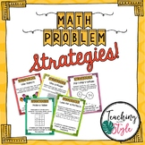 Problem Solving Strategies & Worksheets