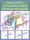 Problem Solving Using Dimensional Analysis
