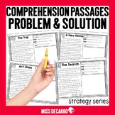 Problem and Solution Comprehension Passages: Strategy Series