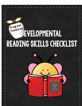 Progress Monitoring Developmental Reading Skills Checklist