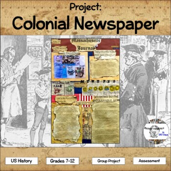Project: Colonial Newspaper