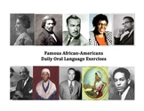 Famous African-Americans Daily Oral Language Exercises