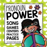 Pronoun Power: Activities, Centers & More