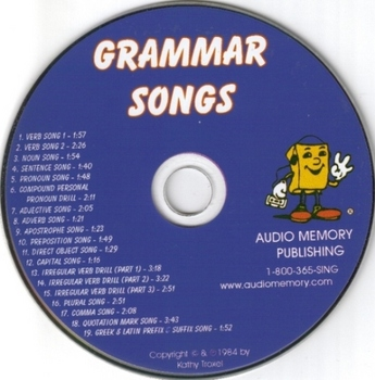 Pronoun Song MP3 from Grammar Songs by Kathy Troxel