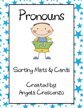 Pronoun Sorting Mats & Cards