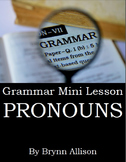 Pronouns Mini Lesson