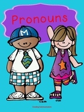 Pronouns- Receptive and Expressive Activities
